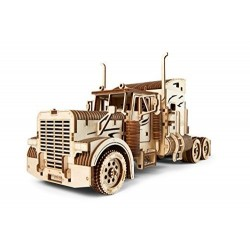 TRUCK camion V-MODELS heavy boy vm03 UGEARS in legno DA COSTRUIRE età 14+