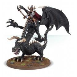 MALEKITH THE WITCH KING OF NAGGAROTH dark elves Warhammer Legends black dragon elfi oscuri