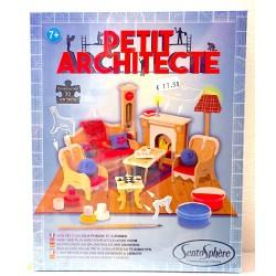 PETIT ARCHITECTE piccolo architetto SENTOSPHERE kit artistico SALOTTO età 7+