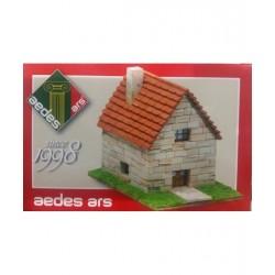 PICCOLO CHALET casetta Aedes Ars 1998 da montare kit modellismo in mattoncini di ceramica