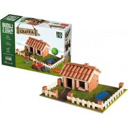 BUILD WITH BRICKS brick tricks VILLETTA COTTAGE Trefl KIT MODELLISMO mattoni veri SET età 6+