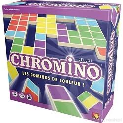 CHROMINO deluxe CLASSICO domino con i colori ASMODEE tessere GIOCO età 6+