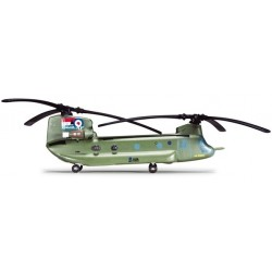 ROYAL AIR FORCE BOEING VERTOL CHINOOK HC2A aereo in metallo 555913 modellino HERPA WINGS scala 1:200
