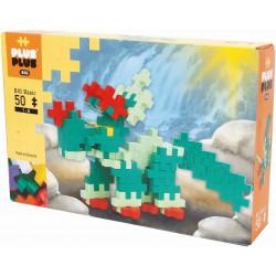 Plus Plus BIG Basic 50 PEZZI costruzioni DINOSAURI in plastica GIOCO MODULARE 4 colori 1+