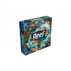 REEF gioco da tavolo GHENOS GAMES in italiano OCEANI barriera corallina CORALLI età 8+