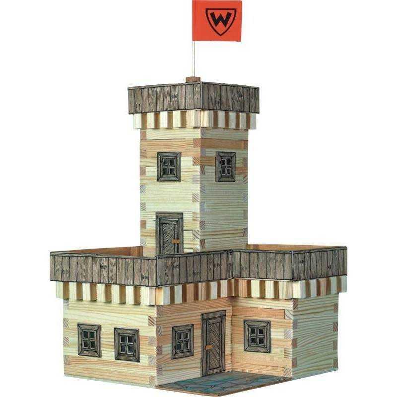 Rocca castello estate costruzioni in legno walachia for Costruzioni in legno