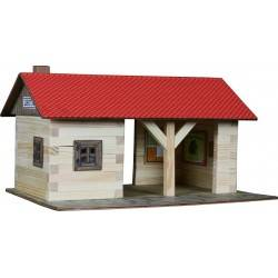 Stazione in legno costruzioni in legno Walachia