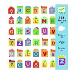 Adesivi Lettere 160 pz. Djeco