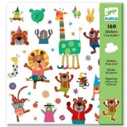 Adesivi E' Festa 160 pz Djeco sticker