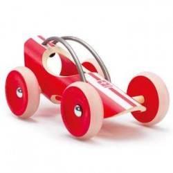 E-RACER MONZA AUTO IN LEGNO MACCHININA - HAPE età 3+