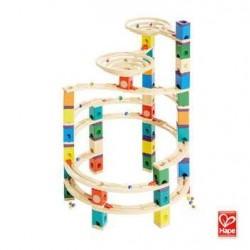 Quadrilla Cyclone - Ciclone gioco piste in legno per biglie età 4+ Hape