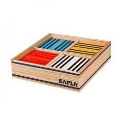 Constructions en bois KAPLA couleur 100 pièces dans 8 coloris différents OCTOCOLOR