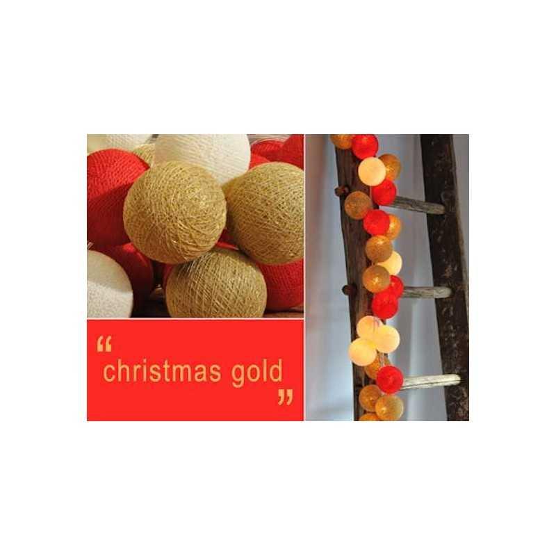 HAPPY LIGHTS CHRISTMAS LIGHTS CHRISTMAS row 35 GOLD ...