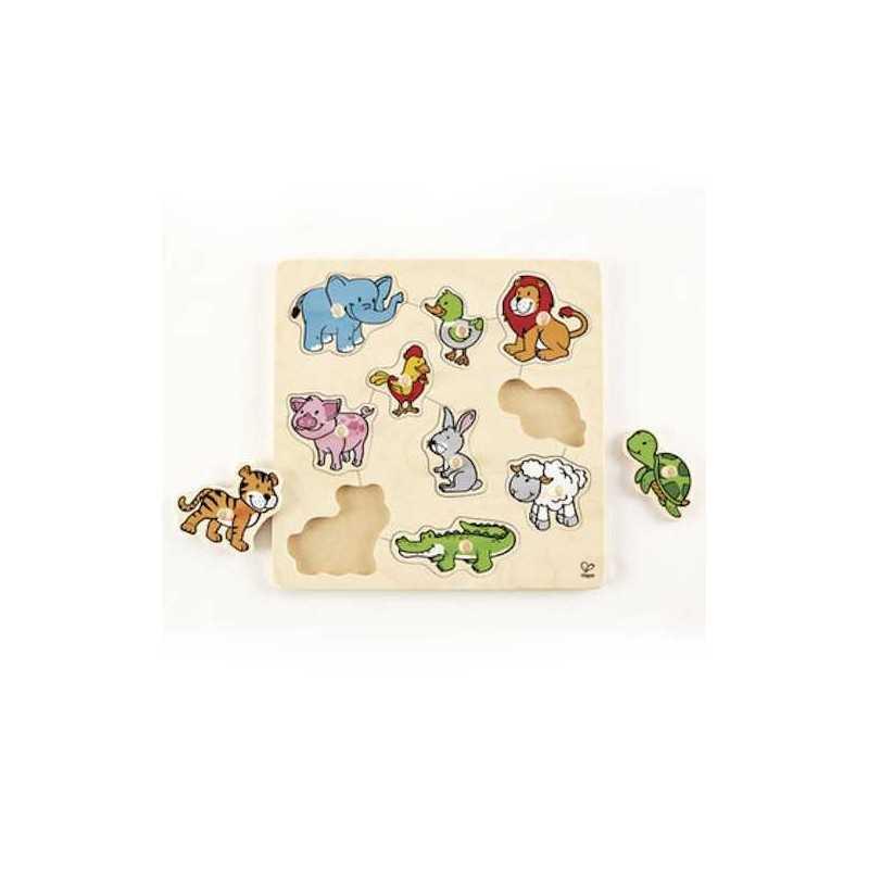 puzzle formen und tiere holz spielzeug mit 24 monate. Black Bedroom Furniture Sets. Home Design Ideas