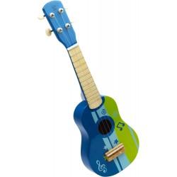 UKULELE legno di tiglio americano HAPE età 3+ chitarra 4 corde accordabili