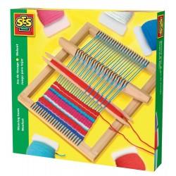 TELAIO IN LEGNO Weaving Loom - Ses Creative - età 5+ - tessitura cucito maglia