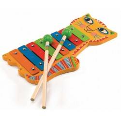 XILOFONO in legno e metallo Djeco Animambo DJ06002 xylofono