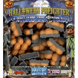 HALLOWEEN FREIGHTER complemento espansione TICKET TO RIDE 45 vagoni 3 stazioni