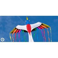 AQUILONE MONOFILO PARADISE BIRD single line kite INVENTO HQ wind game
