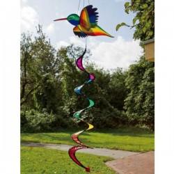 HUMMINGBIRD 3D TWIST COLIBRI diametro 40 cm girandola INVENTO HQ wind game