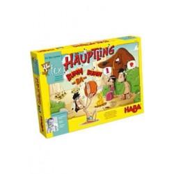GRANDE CAPO PUM-TA-PUM gioco da tavolo HABA istruzioni italiano età 7+ indiani