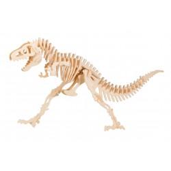 DINOSAURO TYRANNOSAURUS REX in legno da montare WEICO età 8+ modellismo bambini Tirannosauro