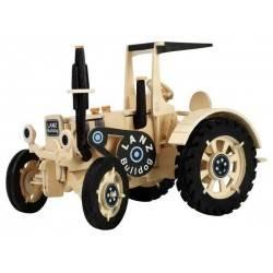 TRATTORE LANZ BULLDOG GRANDE da montare WEICO età 8+ modellismo in legno bambini puzzle 3D