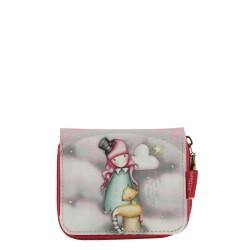 Gorjuss wallet portafoglio THE DREAMER Santoro 483GJ03 borsello porta fogli zip