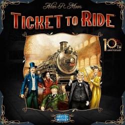 TICKET TO RIDE 10th Anniversary Edition gioco da tavolo treni edizione speciale
