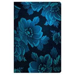Diario a righe MUSA BLU mini cm 10x14 PAPERBLANKS Chic Satin Blue Muse