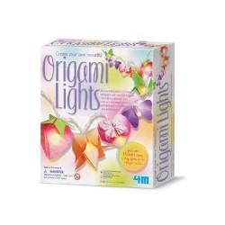 Origami lights origami con luci da appendere kit artistico gioco 4m
