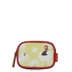 PURSE PURSES Santoro KORI KUMI mini zip purse BLOWING KISSES 486KK01