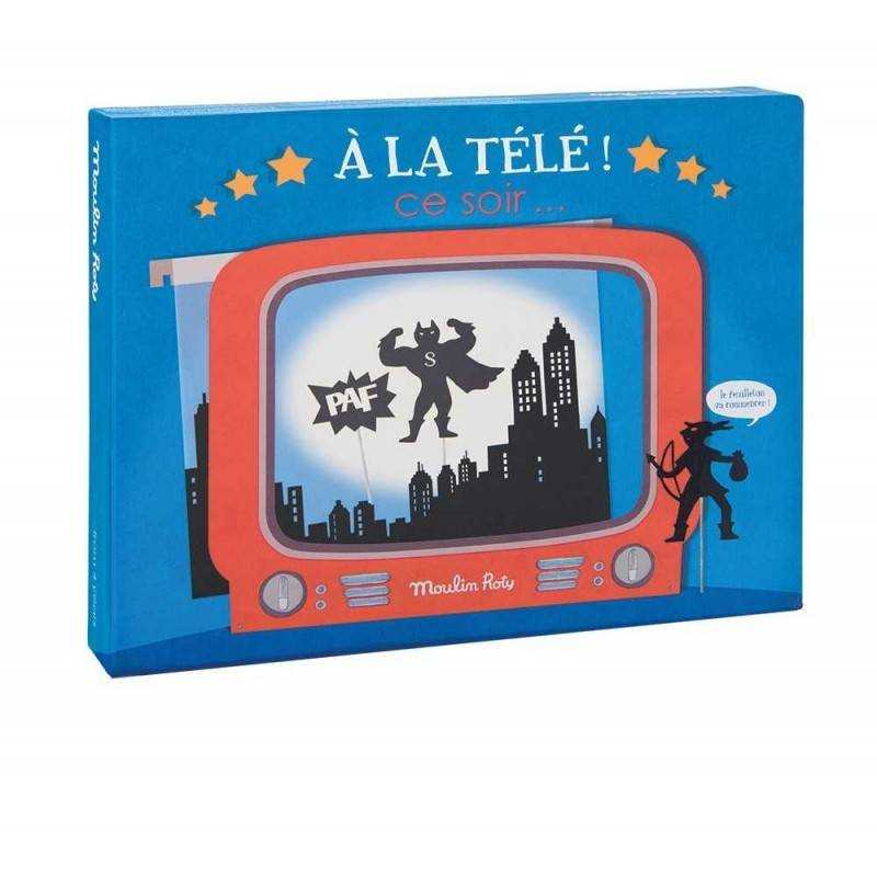 television box and box shadows including moulin roty in tele ce soir 4 projection. Black Bedroom Furniture Sets. Home Design Ideas